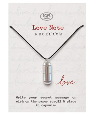 Love Notes Intention Necklace