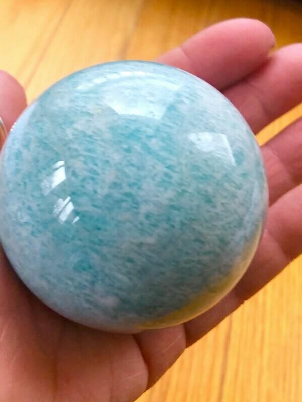 Amazonite Sphere 3