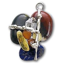 Magic Gemstone Amulet Pendant Necklace