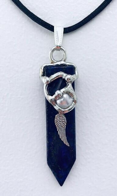 Archangel Michael Blade Pendant Necklace