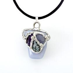 Inner Peace Gemdrop Pendant Necklace