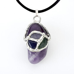 Fearless Gemdrop Pendant Necklace