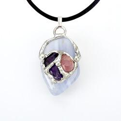 Serenity Gemdrop Pendant Necklace