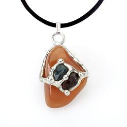 Good Karma Gemdrop Pendant Necklace