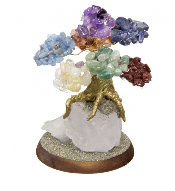 Bonsai Gemstone Wishing Trees