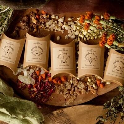 DIY Mini Botanical Incense Kits