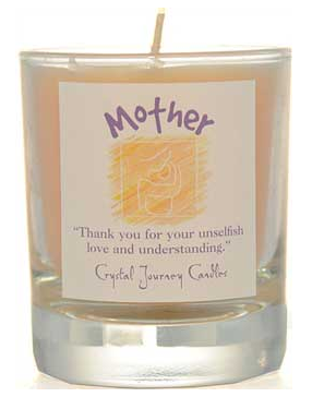 Mother Crystal Journey Soy Votive Candle