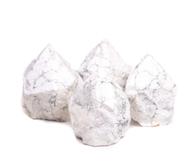 Howlite Top Polished Point