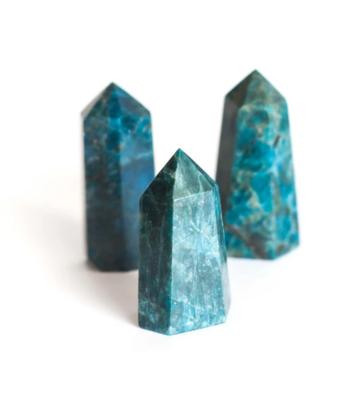 Blue Apatite Polished Point