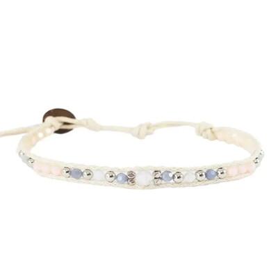 Moonlit Lovers Gemstone Bracelet