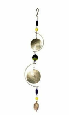 Nana Bells Swirls and Beads Wind Chime