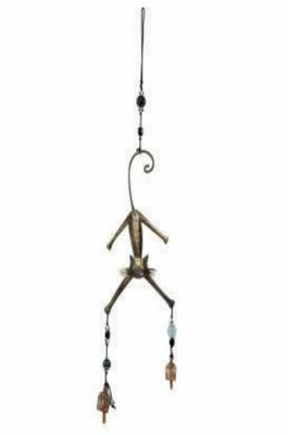 Jumpy Cat Beads and Nana Bells Wind Chime
