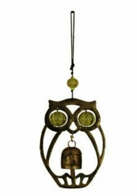 The Night Owl Nana Bells and Beads Wind Chimes