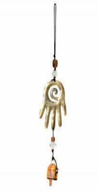 The Healing Hand Hamsa Nana Bell Wind Chimes