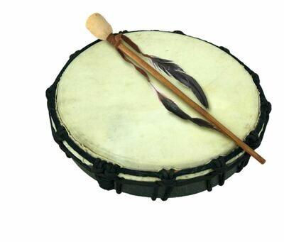 Small Ceremonial Drum Set 10