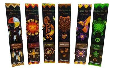 Native Spirits Incense Pack 15 gr