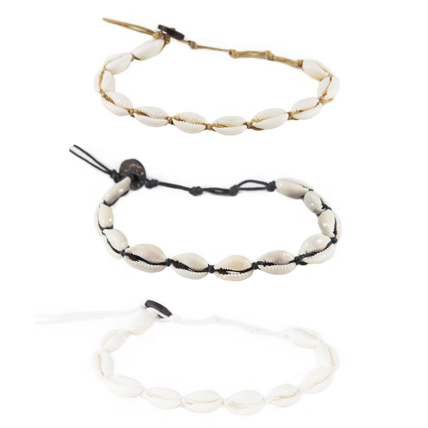 Cowry Shell Anklets