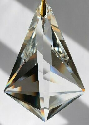 Unleaded Aurora Borealis Double Sail Egyptian Crystal XL