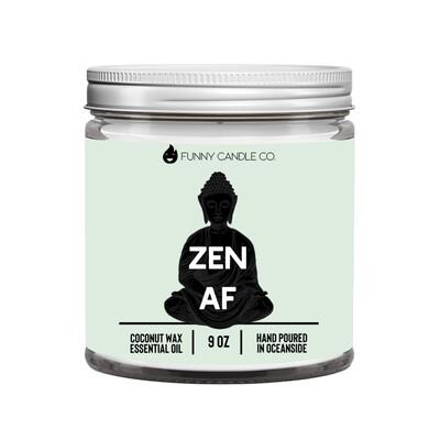 Zen Af (Green) candle -9 oz