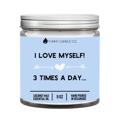 I Love Myself! -9 oz Candle