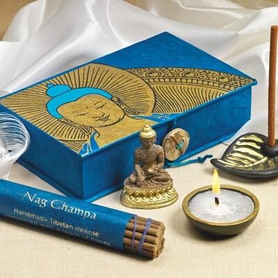 Buddha Meditation Offering Box