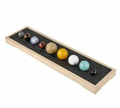 Solar System Gemstone Sphere Set
