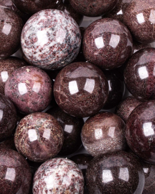 Madagascar Garnet Spheres