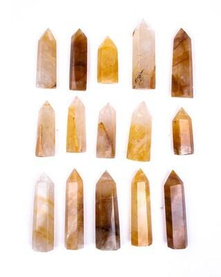 Golden Healer Quartz Polished Point