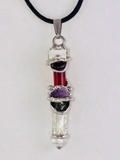 Manifestation Baby Wand Pendant Necklace