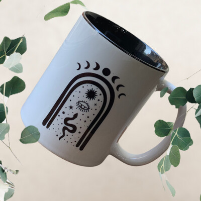Mystical Moon 11oz Ceramic Mug