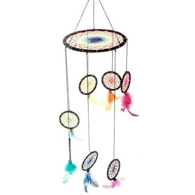 Dreamcatcher Chakra Lantern