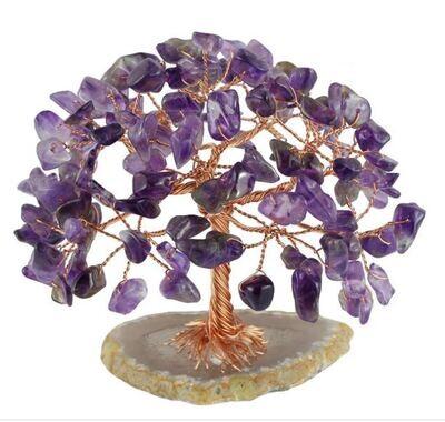 Natural Amethyst Bonsai Gemstone Tree