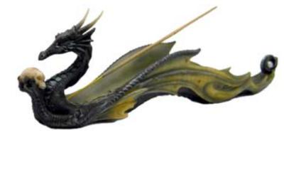 Dragon Incense Ash Catcher