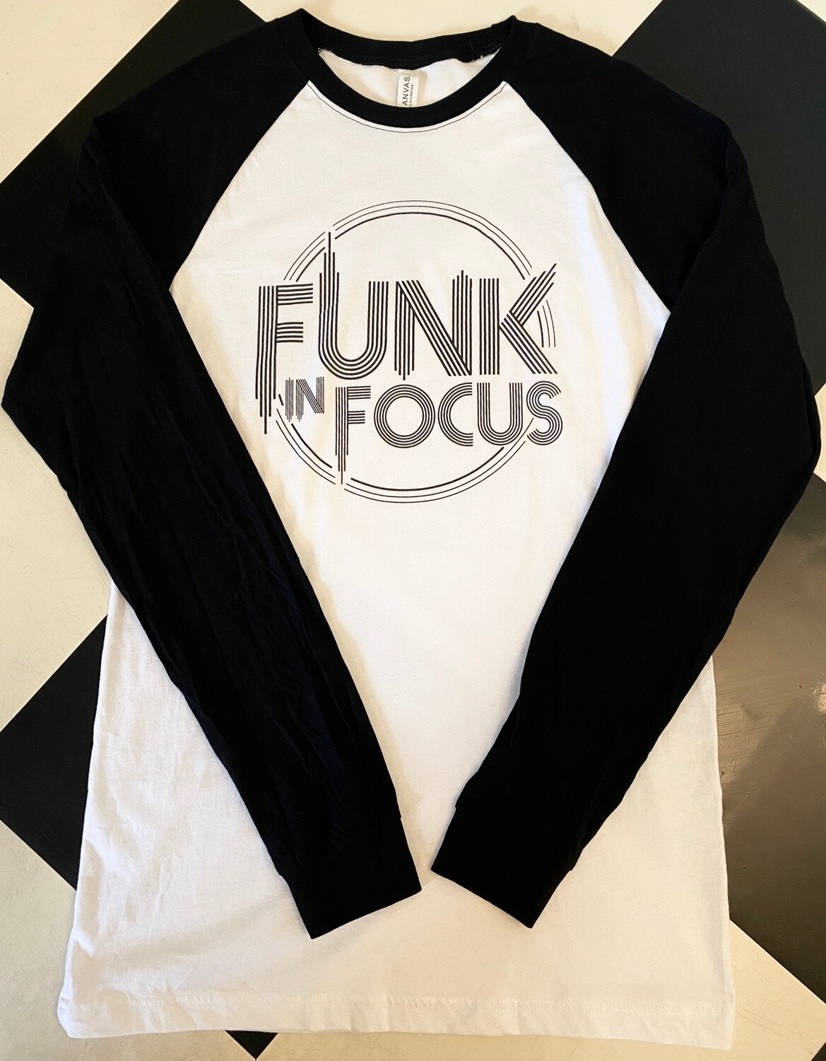FIF Baseball Tee (White/Black)