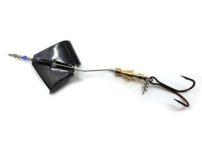 Inline Buzzbait - Black Blade