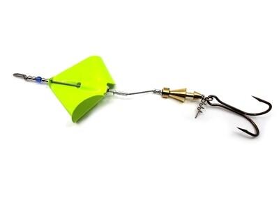 Inline Buzzbait - Chartreuse Blade