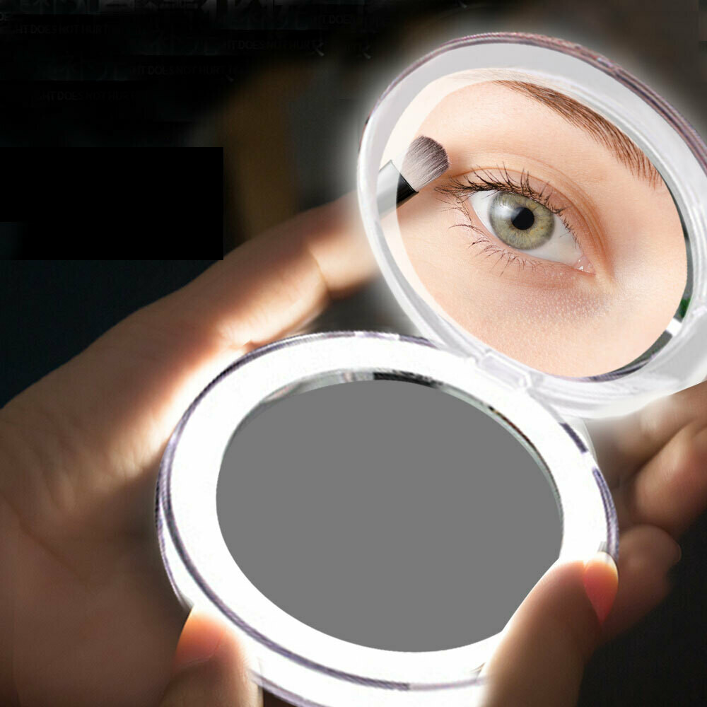 Compact LED Mirror