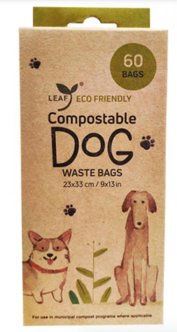 Leaf Poop Bags