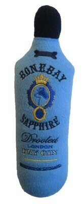 BoneBay Sapphire Gin Bottle