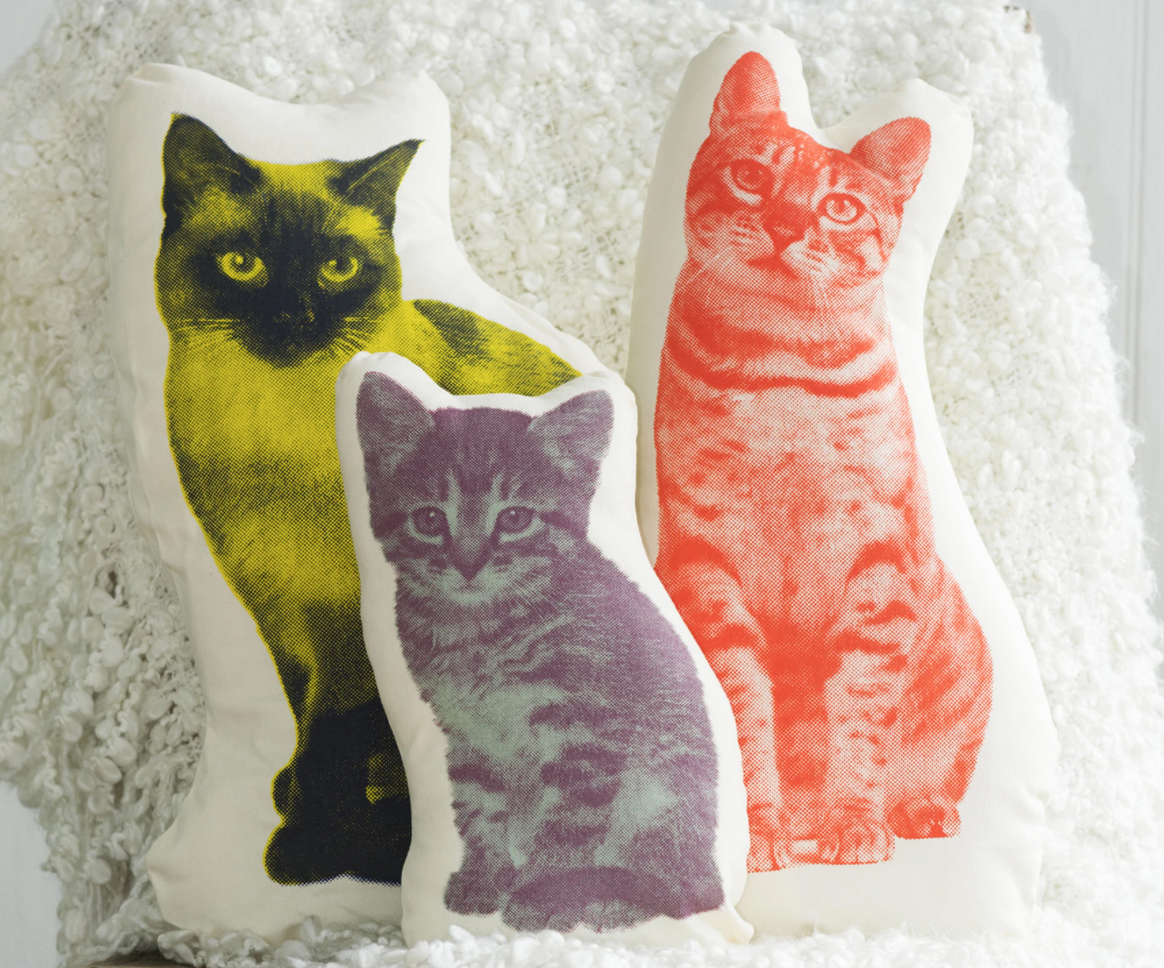 Cat Decorative Pillows