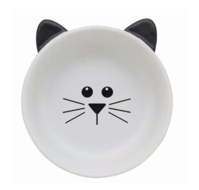 Pretty Face Cat Bowl