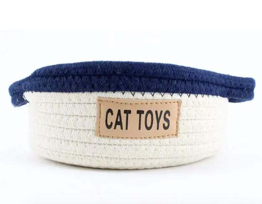 Cat Toy Bin
