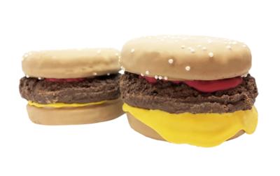 3D Burger Cookie
