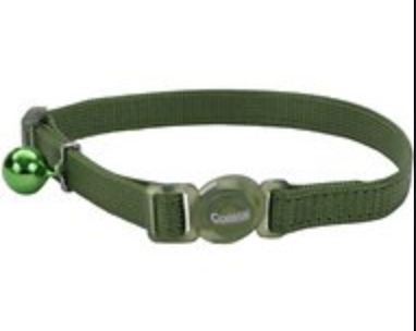 Forest Green Cat Collar