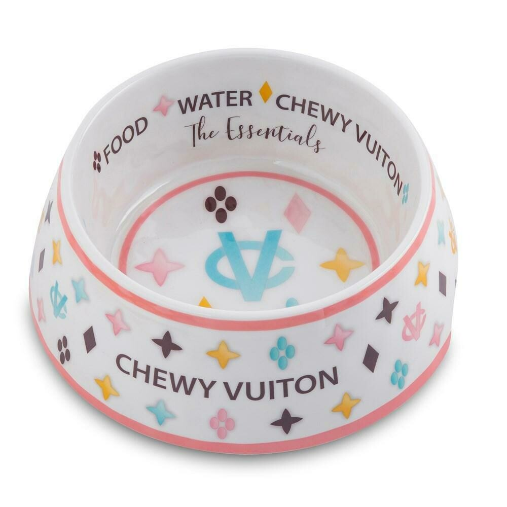 Chewy Vuitton Bowl
