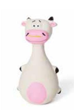 Latex Wobble Cow