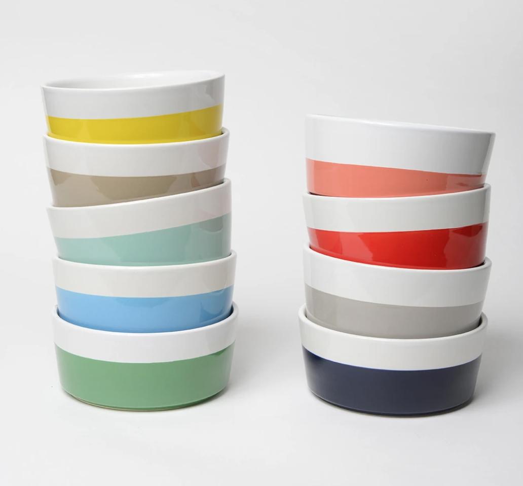 Ceramic Dog Bowls WAGGO