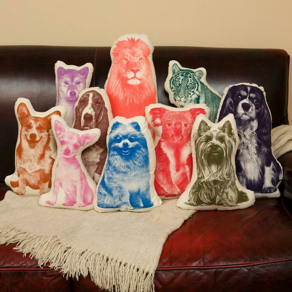 Dog Decorative Pillows