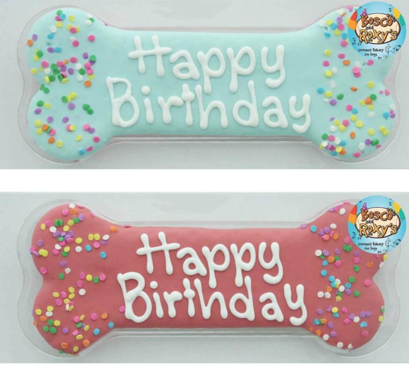 Happy Birthday Bone Cookie - 8
