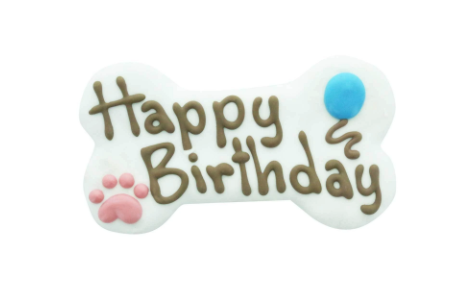 """Happy B-Day Cookie -6"""""""